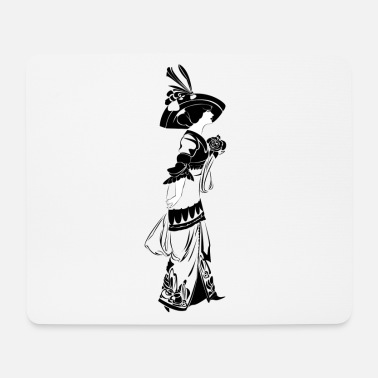 Art Nouveau The lady of Art Nouveau - Mouse Pad