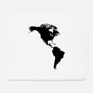 Nort America America - Mouse Pad