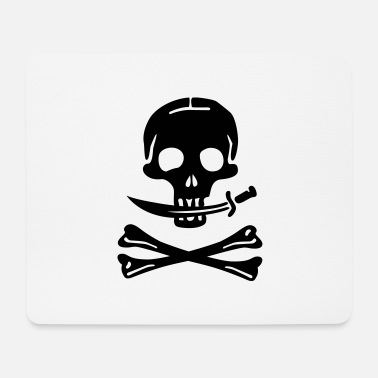 Pirates Pirate Pirates Skull - Mouse Pad