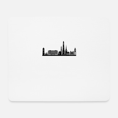 North Sea Borkum skyline - Mouse Pad