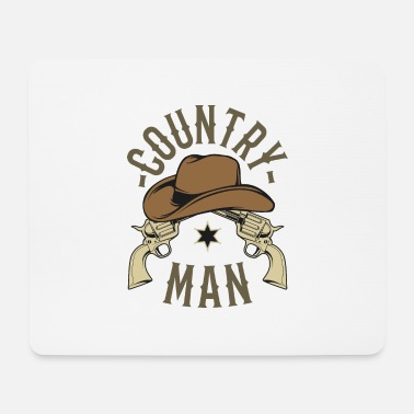 Country Country man - Mousepad