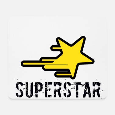 Superstar superstar - Tapis de souris (format paysage)