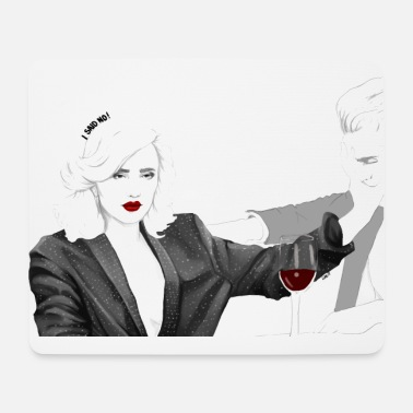 Gwp i said no - Mouse Pad