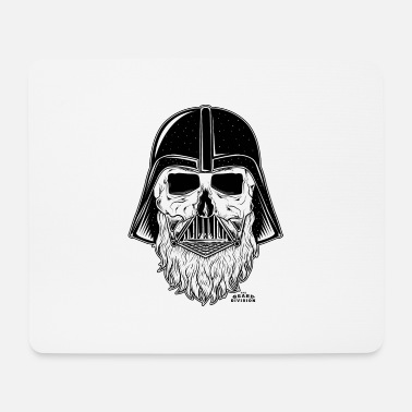 Black And White Collection darth vader beard - Tapis de souris
