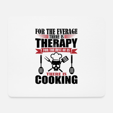 Us Awesome cooking therapy - Mousepad (Querformat)