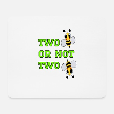 Bee to bee or not to bee - Fleeting Bee - Mouse Pad