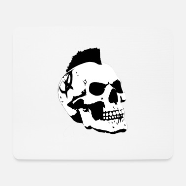 Iroquois Skull skull Iroquois - Mouse Pad