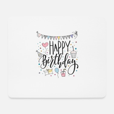 Birthday Greeting Happy Birthday Birthday Greetings 10 Birthday Girl - Mouse Pad