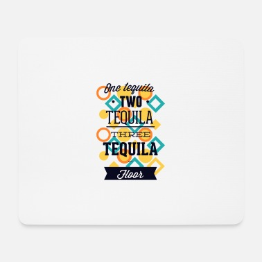 Tequila drinking party alcohol toast gift - Mouse Pad