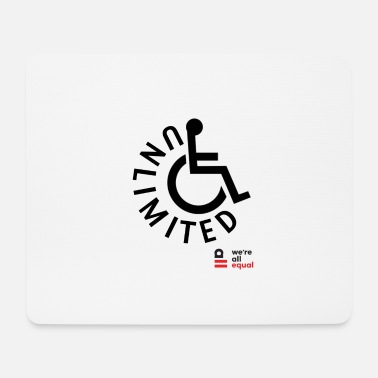 Disabled Disability - Mouse Pad