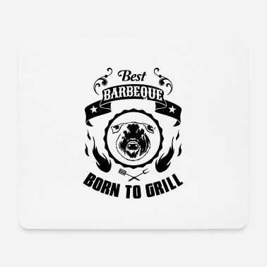 barbeque - Mousepad