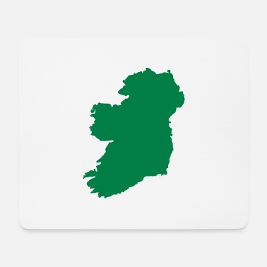 Belfast Irleand Green - Mouse Pad
