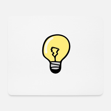 Light Bulb Light bulb - Mouse Pad