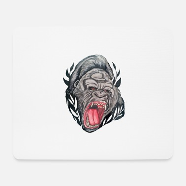 Gorilla anger - Mouse Pad