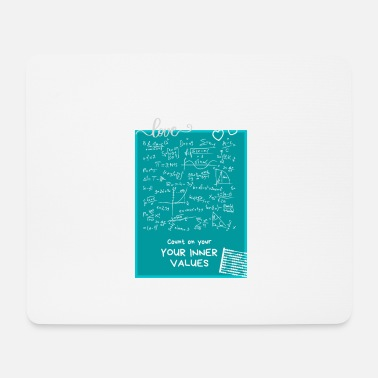 Inner Values Count on your inner values - Mouse Pad