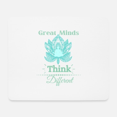 Zombie Great Minds Think Different - Mouse Pad
