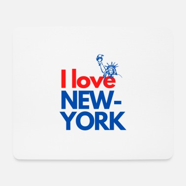 Funky I love NEW YORK - Mouse Pad