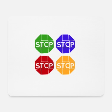 Graphic Art Pop Art / Graphic Novel: STOP - Hiirimatto