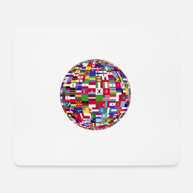 World world - Mouse Pad