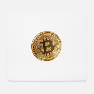 Piece bitcoin piece - Mouse Pad