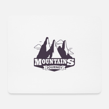 Mountains Mountains Mountains mountaineers mountaineering - Mouse Pad
