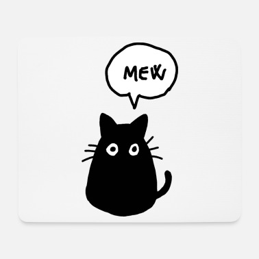 Art Kitty relax - Mouse Pad
