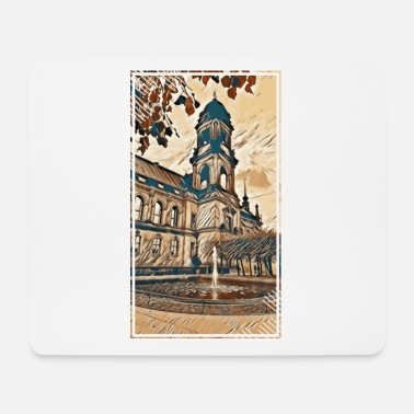 Old Town Old town Dresden in autumn - Mouse Pad
