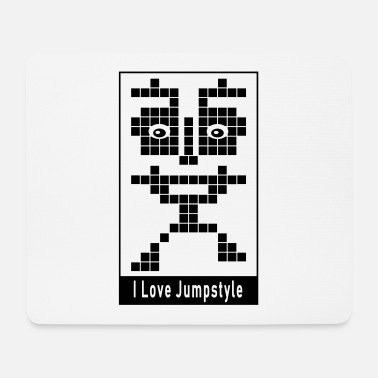 Jumpstyle Techno ☆ I Love Jumpstyle - Alfombrilla de ratón (horizontal)