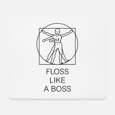 Like A Boss FLOSS LIKE A BOSS Vitruvian man - gamer meme - Musmatta (liggande format)