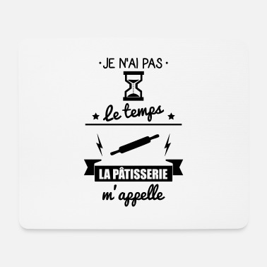 Pastries pas pastry time: pastry gift - Mouse Pad