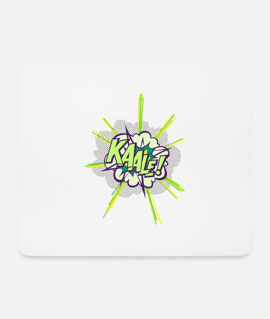 Blow Up Mouse Pads - KAALE! - Mouse Pad white