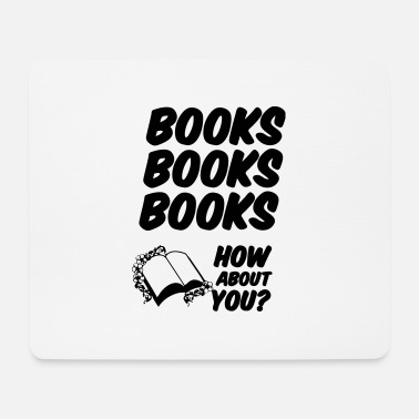 Book Books, Books, Books (Bücher) - Mouse Pad