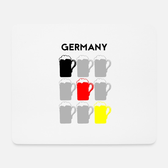 World Championship Mouse Pads - Germany World Champion Soccer Sport Gift - Mouse Pad white