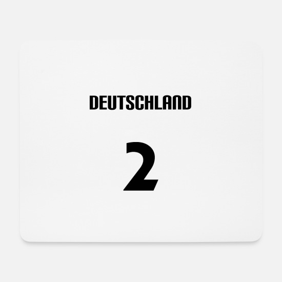 Flag Of Germany Mouse Pads - Germany - Mouse Pad white