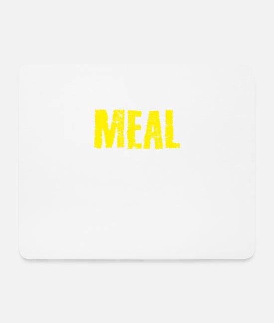 Love Mouse Pads - Meal - Mouse Pad white