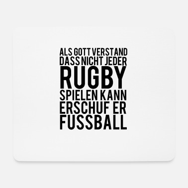 Rugby rugby - Mouse Pad