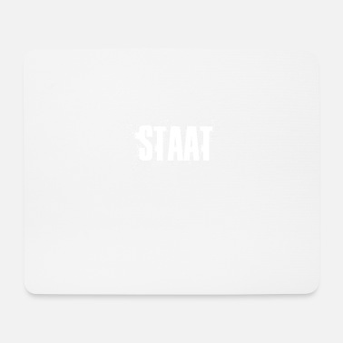 Staat Staat - Mousepad