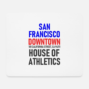 Californië San Francisco - Downtown - House of Athletics - Muismatje (landscape)