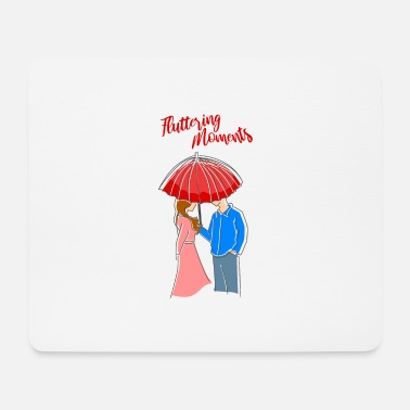 Couples couple couples couple Fluttering moments - Mouse Pad