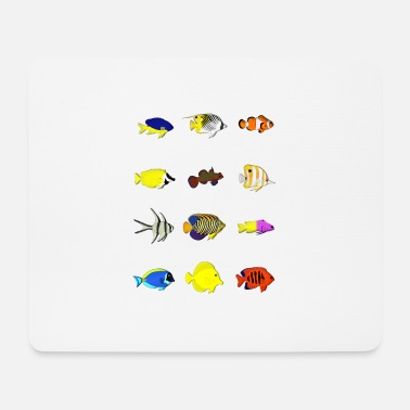 Reef 12 reef fish - Mouse Pad
