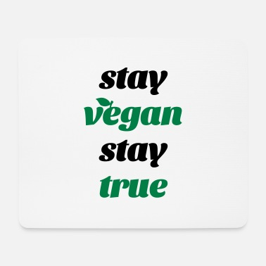 Quote vegan quote - Mousepad