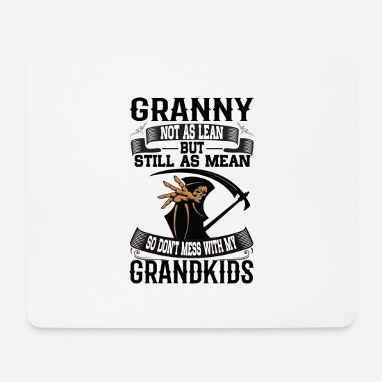 Grandmother Mouse Pads - Granny - Mouse Pad white