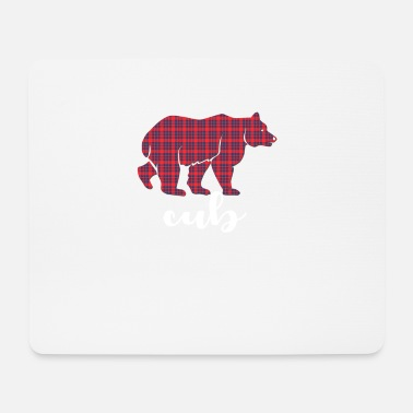 Cub cub bear - Mouse Pad
