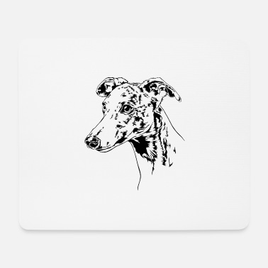 WHIPPET Greyhound Greyhounds Chien Wilsigns - Tapis de souris