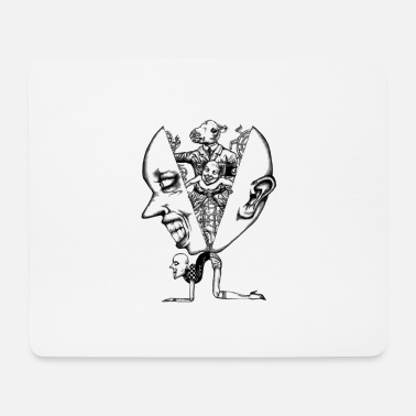 Momotaro - Slim Fit T-shirt - Mouse Pad
