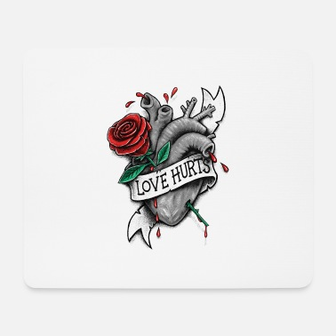 Love Hurts Love Hurts - Mouse Pad