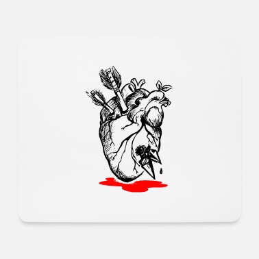 Heartache Bleeding Heart - Heartache - Mouse Pad