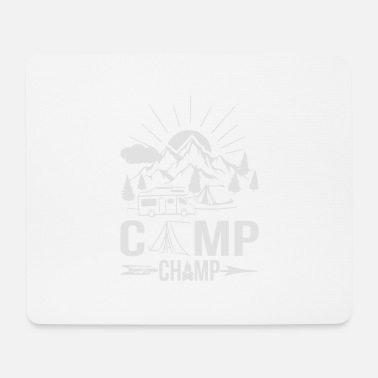 Champ Camp Champ - Tappetino per mouse (orizzontale)
