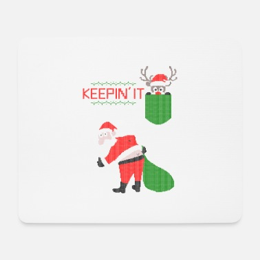 Ugly christmas - keepin'it simple - Tapis de souris