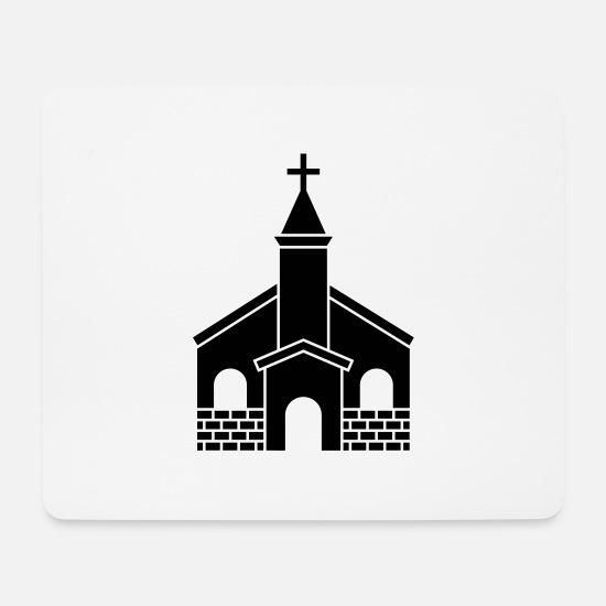 Bible Mouse Pads - Church - Christian - Catholic - Jesus - Bible - Mouse Pad white